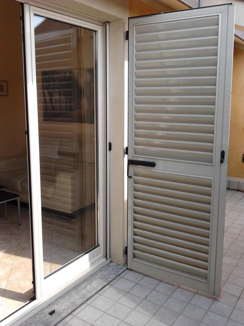 porta finestra persiana