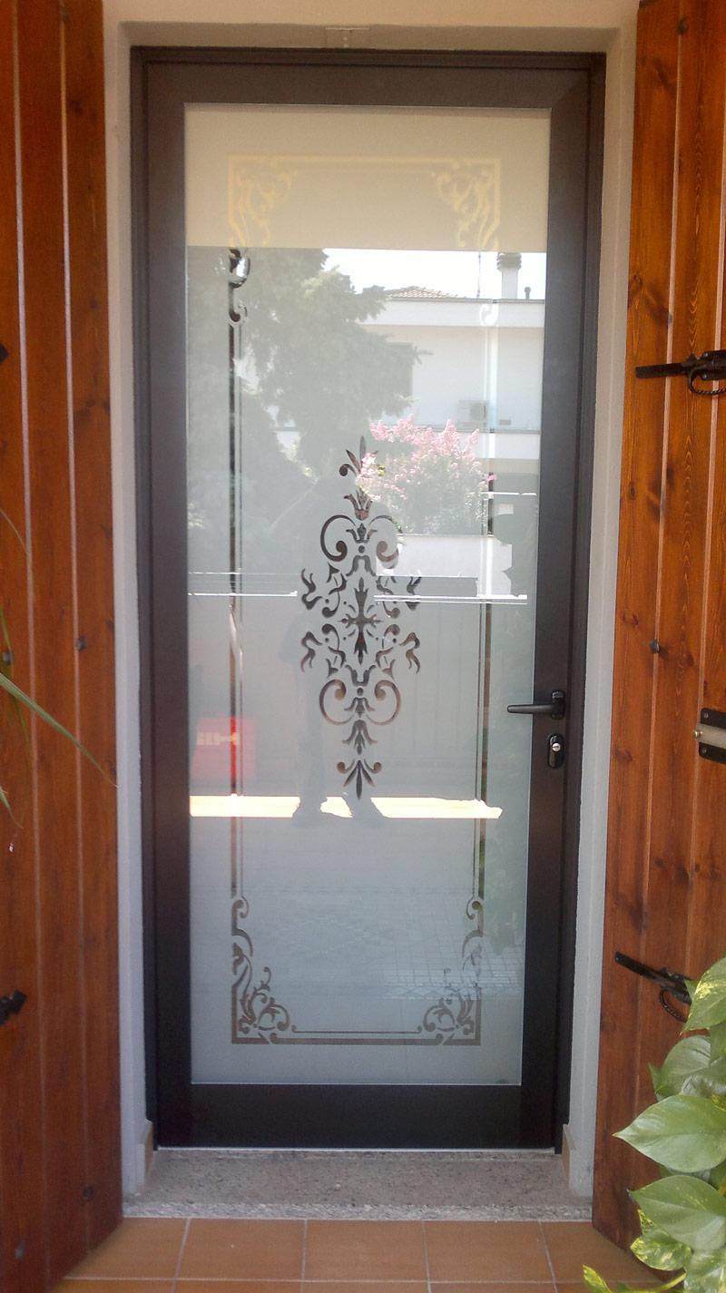 Porte e portoni vievi serramenti - Porte ingresso vetro ...