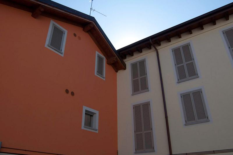 Serramenti facciata condominio