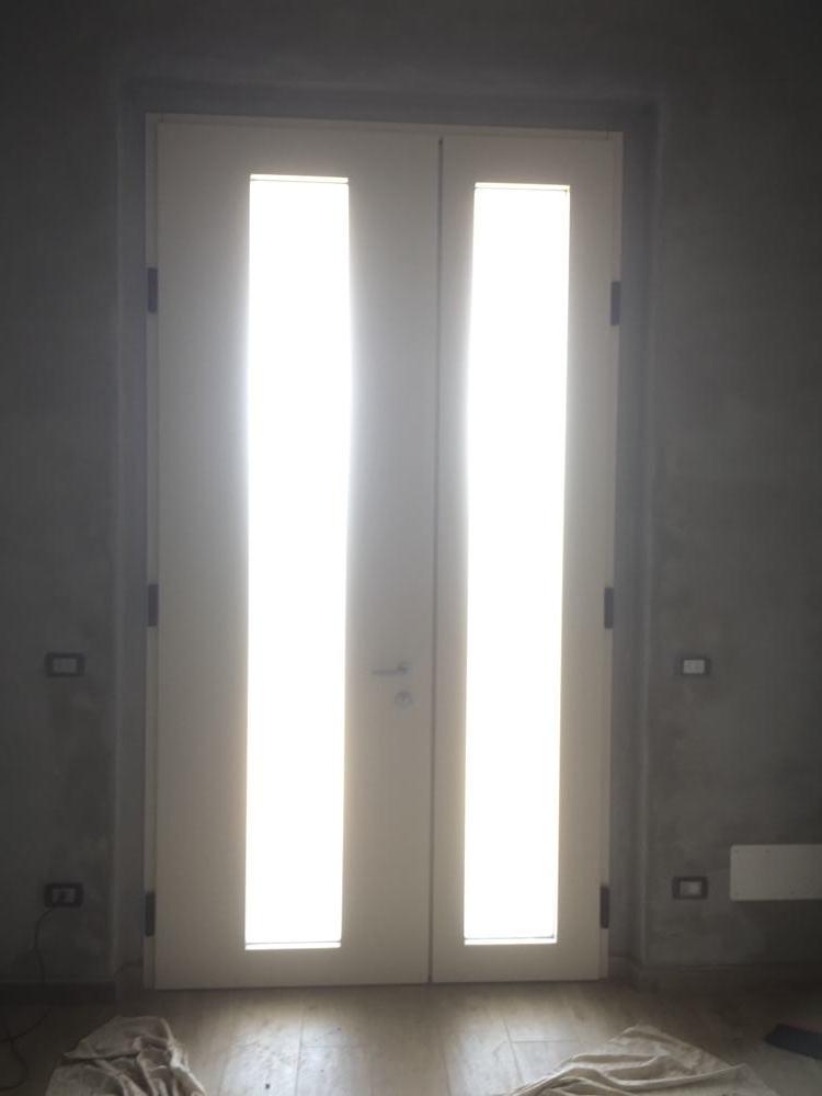 interno porta blindata - vievi serramenti